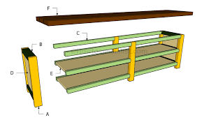 Sofa Table Plans HowToSpecialist How to Build Step by Step DIY