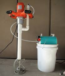 little dragon and foam injection mixer package