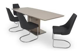 fabian cream gloss extending dining table with 6 moira chairs