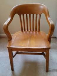 vintage wooden office chair. antique vintage lawyers bankers library oak desk barrel back arm chair wooden office y