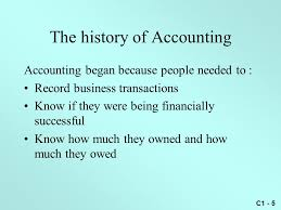 Power Notes Chapter 1 Introduction To Accounting And Business Ppt