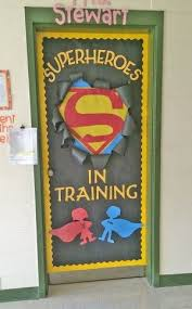 cool door designs for school. Check Out This Fun Superhero Door Idea Featured In The Back To School Bulletin Board Ideas Cool Designs For S