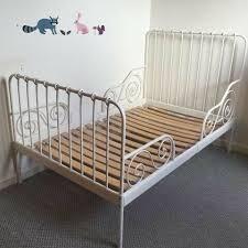 extendable metal children s ikea minnen bed with slats