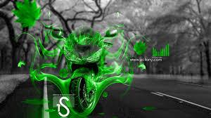 kawasaki rr fire autumn moto