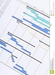 Gantt Chart Stock Image Image Of Ballpoint Gantt Business
