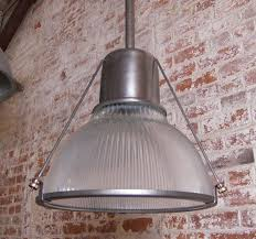 vintage cast iron metal holophane light 3