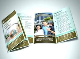 Templates For Brochures Free Download Insurance Brochure Template Home Agency Health Flyer Free