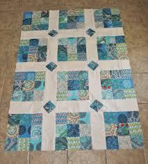 Simple Quilt in blue | Quilts - Blocks, Ideas & More | Pinterest ... & Lap quilts Adamdwight.com