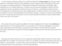 Немецкие кулинарные привычки deutsche essgewohnheiten 2
