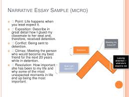 narrative essay presentation ii narrative essay