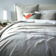 gray striped bedding gray striped bedding grey duvet cover with regard to amazing home regarding designs