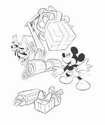 Kids N Fun Kleurplaat Mickey Mouse Bulldozer Met Cadeaus