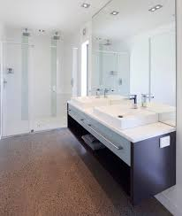 bathroom cabinet ideas design. Creative Floating Cabinet Sink Surrounded By Mirrored Surfaces Bathroom Ideas Design Y