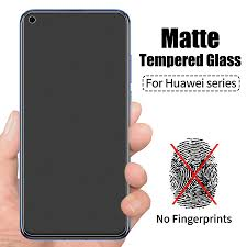 <b>Matte</b> Frosted <b>Tempered Glass For</b> Huawei Honor V20 Mate 30 ...