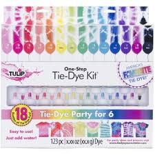 Tulip Fabric Dye Color Chart Tulip One Step 18 Color Tie Dye Kit