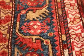tribal antique turkish melas rug 49706 blue nazmiyal