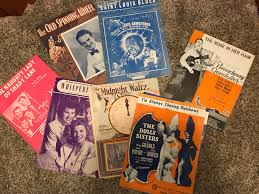 how much is old sheet music worth antique music worth anything i came across a bunch of old sheet