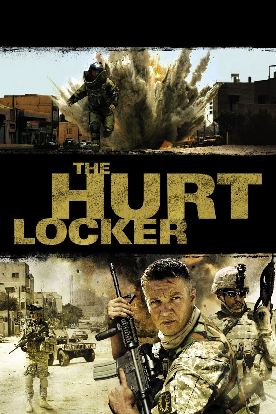 Download The Hurt Locker (2008) Dual Audio Full Movie {Hindi-English} 480p | 720p