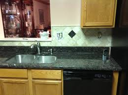 Tan Brown Granite Countertops Kitchen Donna S Tan Brown Granite Kitchen Countertop W Travertine