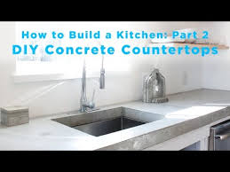 diy concrete countertops part 2 of the total diy kitchen series action news abc action news santa barbara calgary westnet hd weather traffic