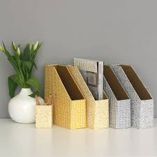 Bankers Box Magazine Holders Hand Drawn Magazine File Grey Or Mustard By Heart Parcel Bankers 49