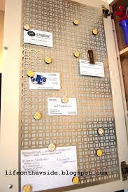 Magnet Kitchen Cupboard Doors On The V Side Kitchen Cabinet Magnet Board Tutorial