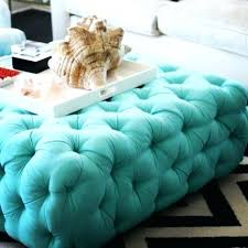light blue ottoman. Interior And Furniture Design: Likeable Light Blue Ottomans On Gray Swivel Club Chairs With Round Ottoman