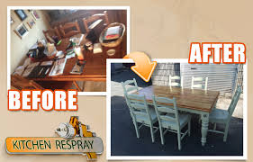 how to make modern furniture look old