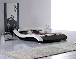 perfect modern italian bedroom. Outstanding Modern Leatherette Platform Bed Cr1930 Contemporary Bedroom Intended For Beds Attractive Perfect Italian S