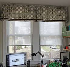 trendy office designs blinds. Fabric Valance For Window On Study Room Inspiration Trendy Office Designs Blinds