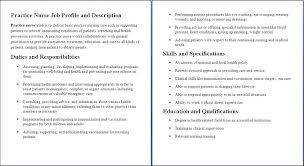 Job Description Pediatric Oncology Nurse Cardiologist ...