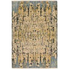 vilhelm blue gold 9 ft x 13 ft area rug