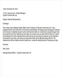 Purchase Requisition Letter