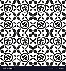 Medieval Patterns New Medieval Seamless Patterns Royalty Free Vector Image