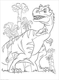 Tuyển tập 50 mẫu tranh tô màu khủng long đẹp nhất cho bé tập tô