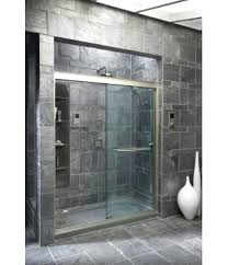 thick glass shower doors view the k l 3 8 thick glass bypass shower how thick should