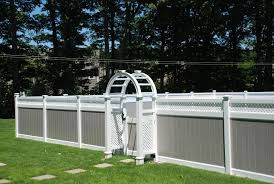 Fence Design And Color Modern Woodmetal Fence Designs