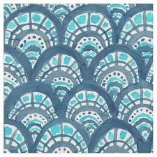Fish Pattern Fabric