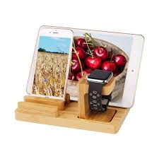 Alibaba.com offers 1,894 apple watch iphone charging stand products. Trexonic Bamboo Apple Watch And Iphone Charging Stand Brown Overstock 32030211