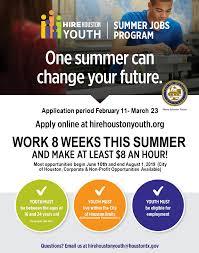 Coh Summer Jobs Program