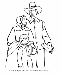 Small Picture Pilgrim Thanksgiving Coloring Page Sheets Pilgrim Family