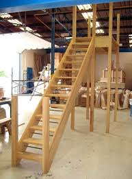 outside wood stairs external staircase diy hardwood stairs