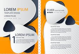 Brochure Graphic Design Background Lorem Ipsum Template Design Flyer Brochure Template Single