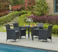 outdoor dining patio furniture. Simple Patio Mercer 5 Piece Outdoor Dining Set With Cushion Intended Patio Furniture
