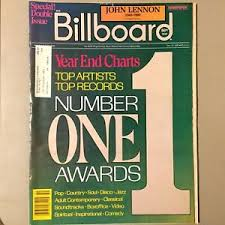 Billboard Charts 1980 Details About 1980 Billboard Magazine Big Year End Issue John Lennon Queen Michael Jackson