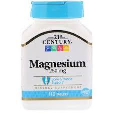 21st Century, <b>Магний</b>, <b>250 мг</b>, 110 <b>таблеток</b> | 21st century ...