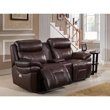 sanford top grain leather power reclining loveseat with power reclining sofa with headrest blue lazy boy
