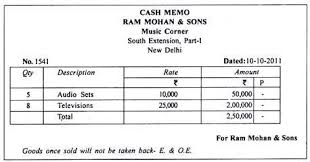 sample of cash bill cash memo bill format in ms word template check some
