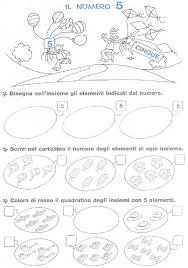 Risultati Immagini Per Schede Di Matematica Per Bambini Di 5 Anni