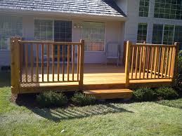 cedar deck handrails and step hand rails for decks a72